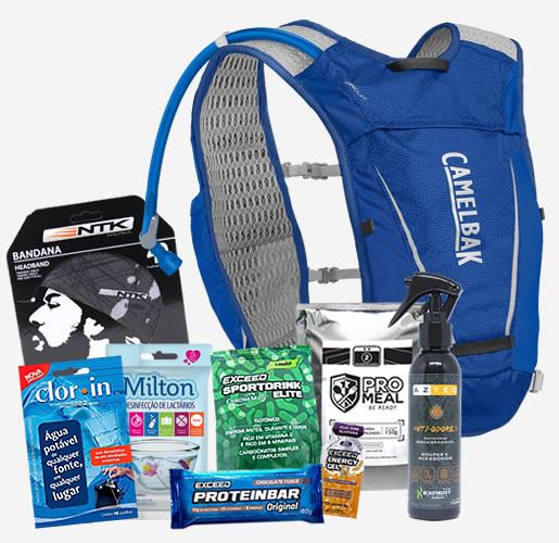Kit bônus para os participantes do Gear Tips Trail Run Experience 2021
