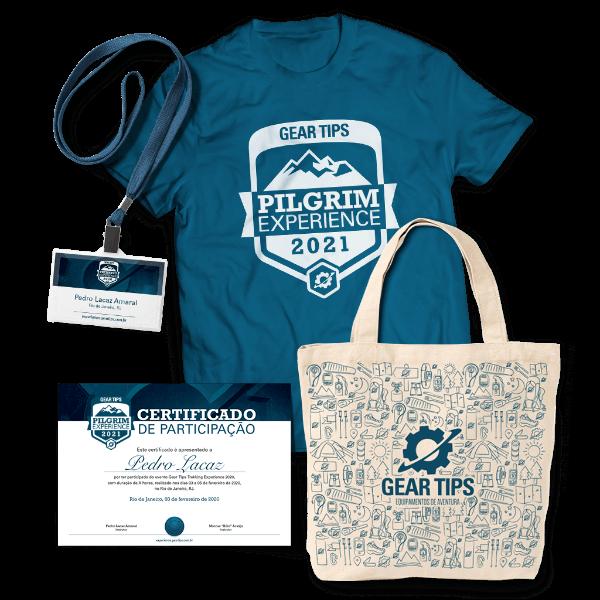 Kit Camiseta Pilgrim Experience 2021