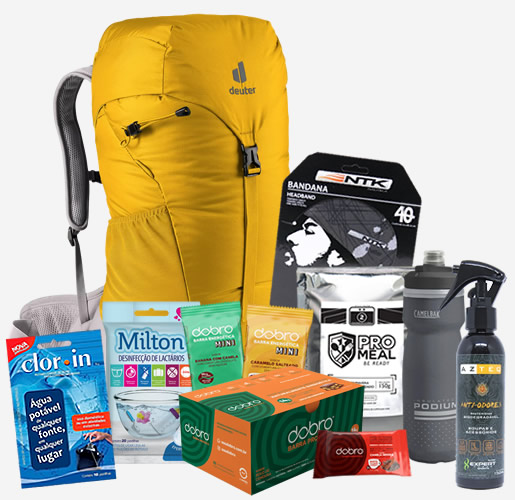 Kit de Equipamentos Gear Tips Pilgrim Experience 2021